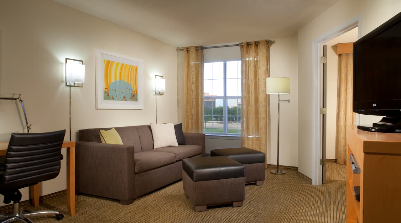 Hyatt House Dallas Richardson Living Room
