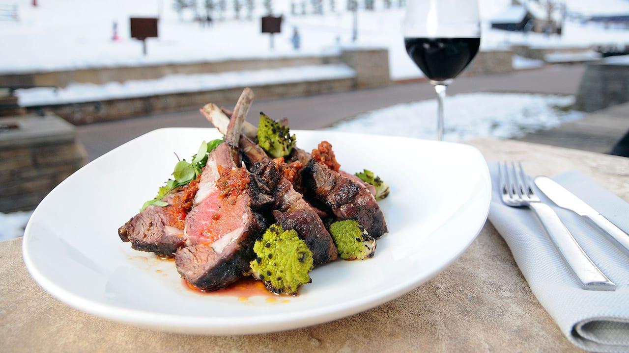 Lamb Chop Catering Park Hyatt Beaver Creek Resort and Spa