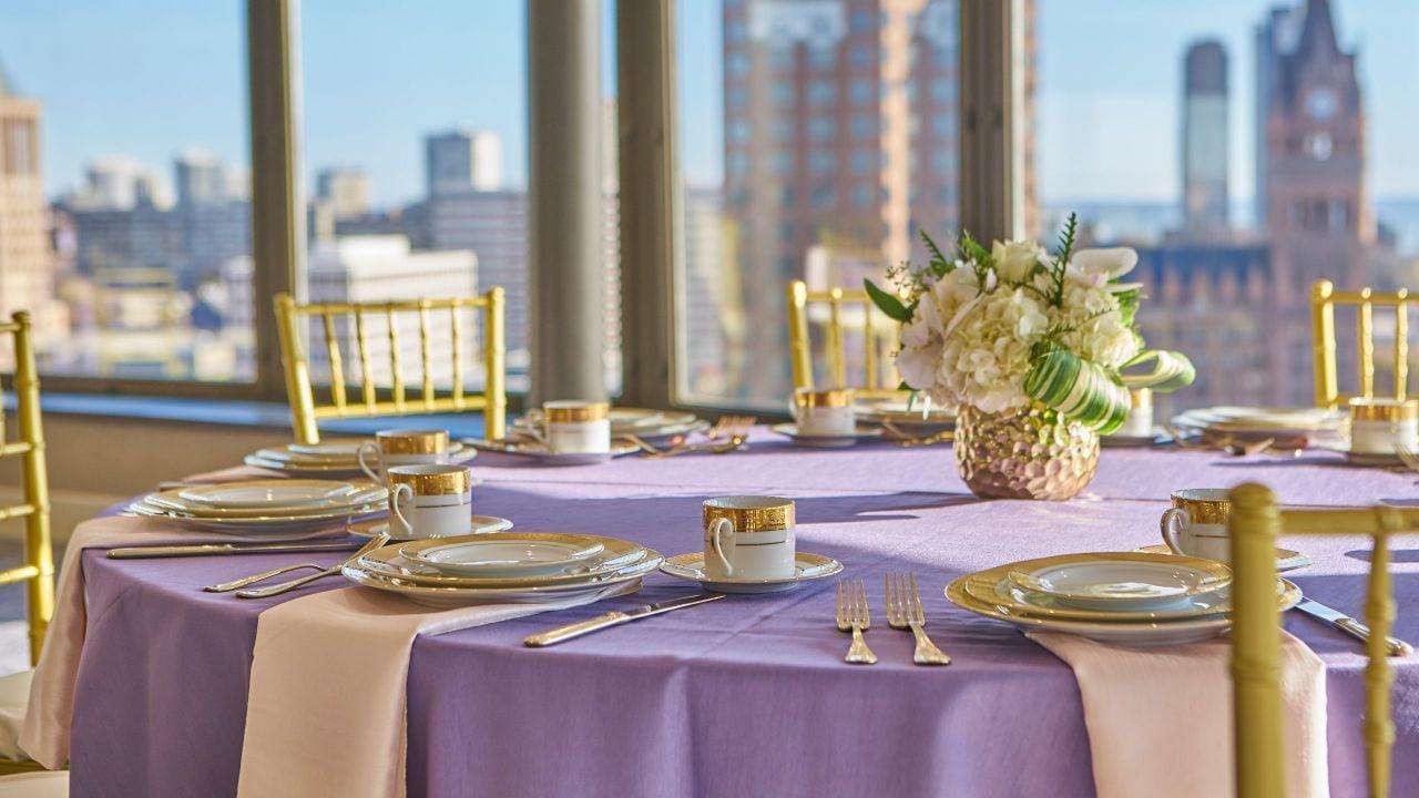 VUE Wedding Single Table