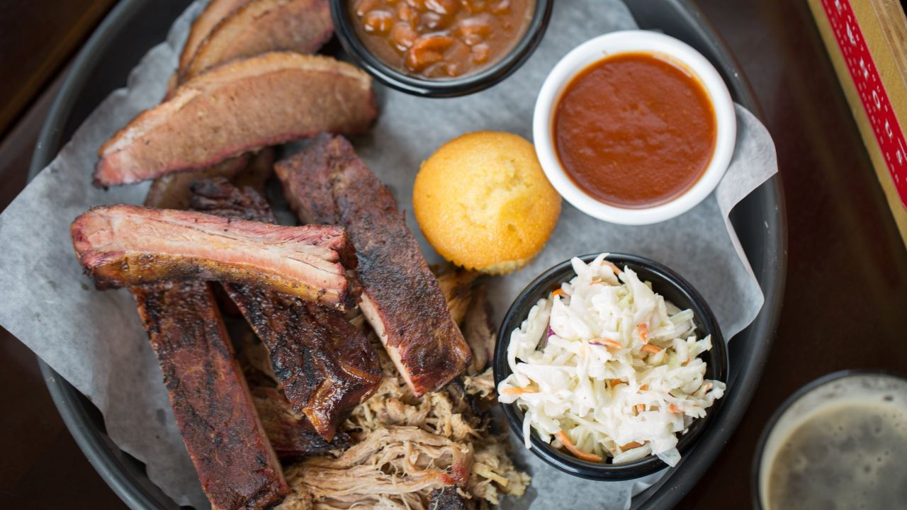 Brewhouse House Smoked BBQ Sampler