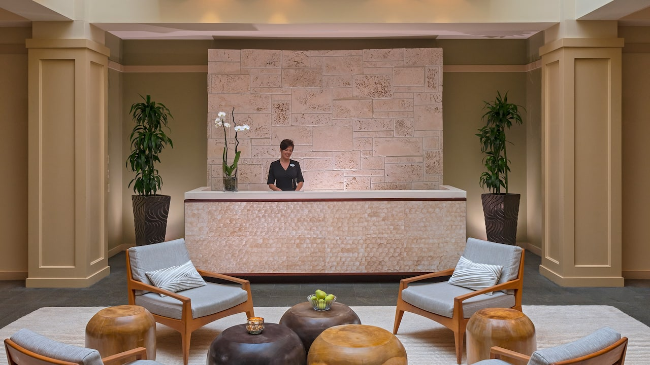 Spa located at hotel resort and spa in Naples, Florida