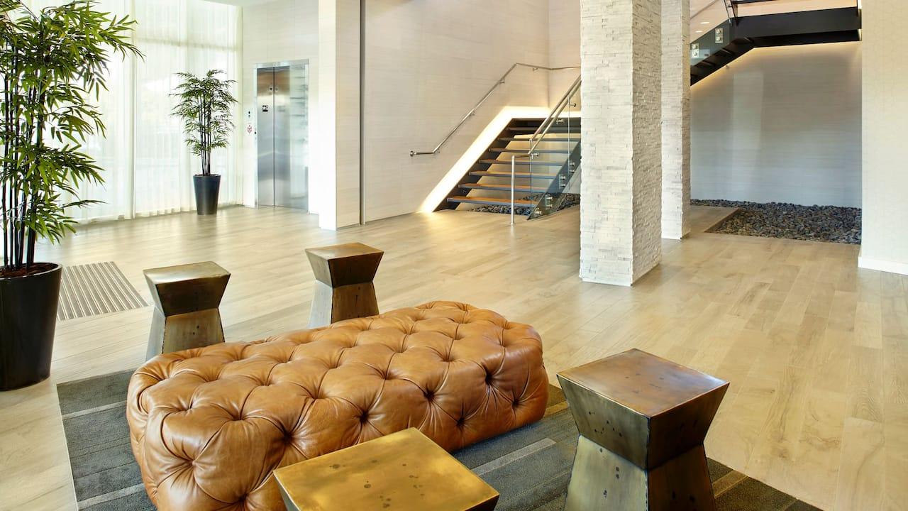 garage lobby