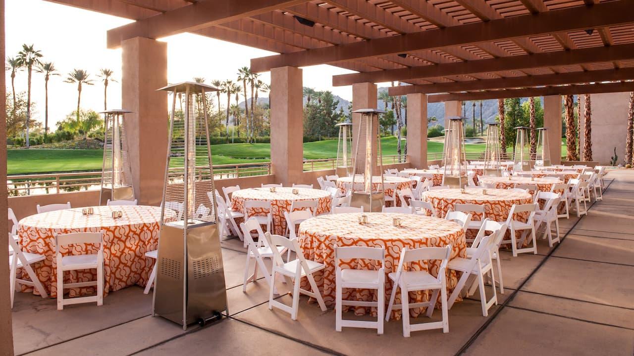 Terrace event