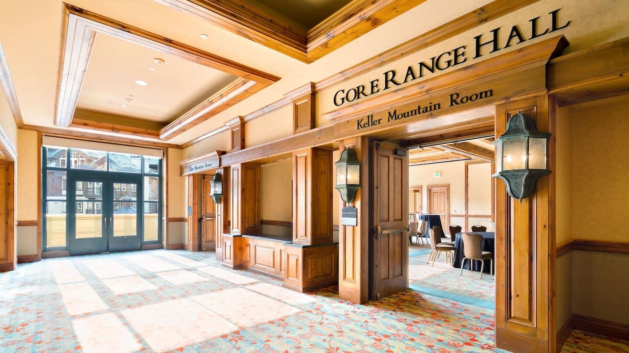 Park Hyatt Beaver Creek Gore Range Foyer