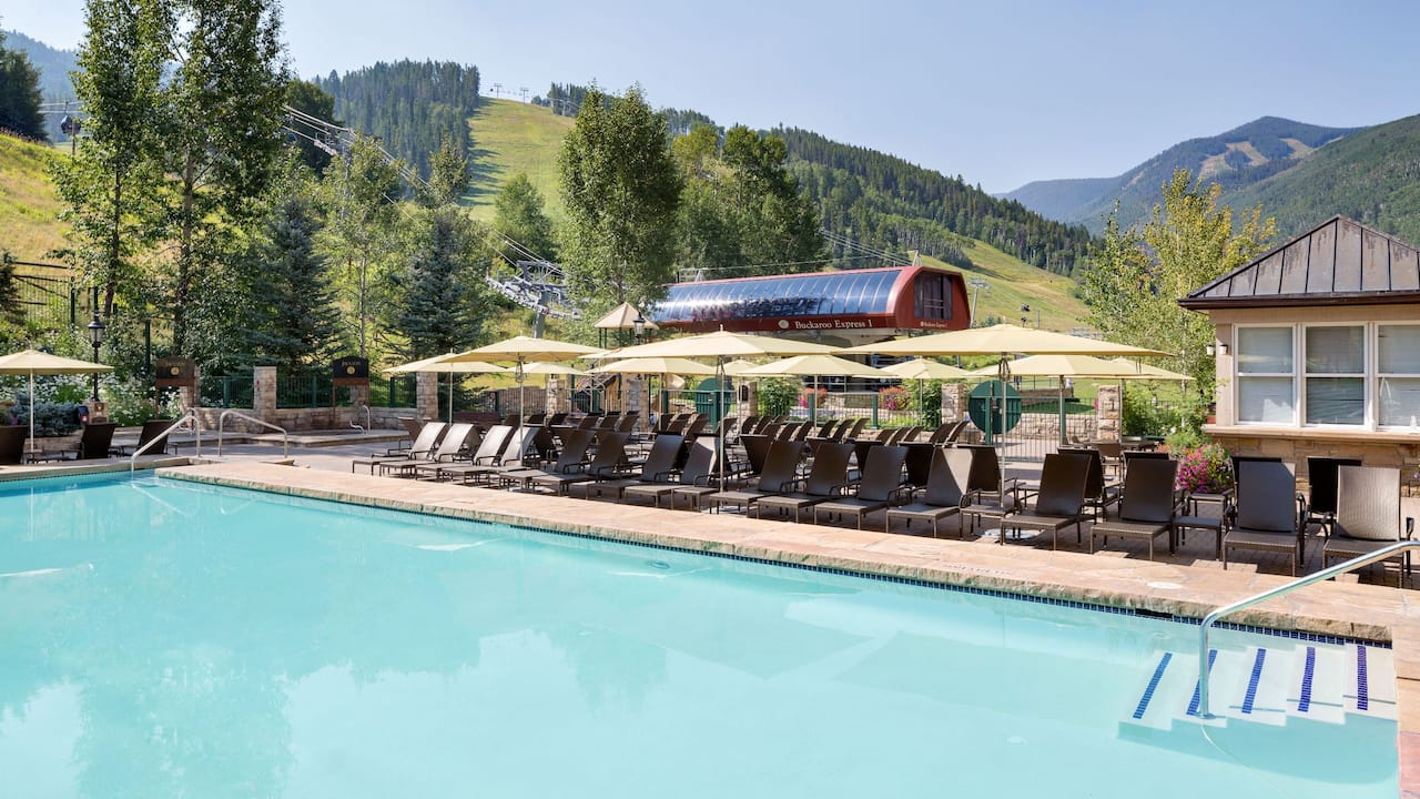 Park Hyatt Beaver Creek Outdoor Pool