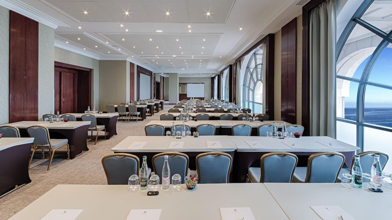 Rivera Room Classroom Setup at Hotel Hyatt Regency Nice Palais De La Méditerranée