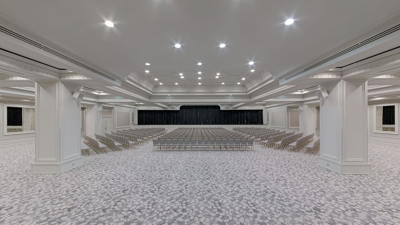 Riviera Room Theater Setup at Hotel Hyatt Regency Nice Palais De La Méditerranée