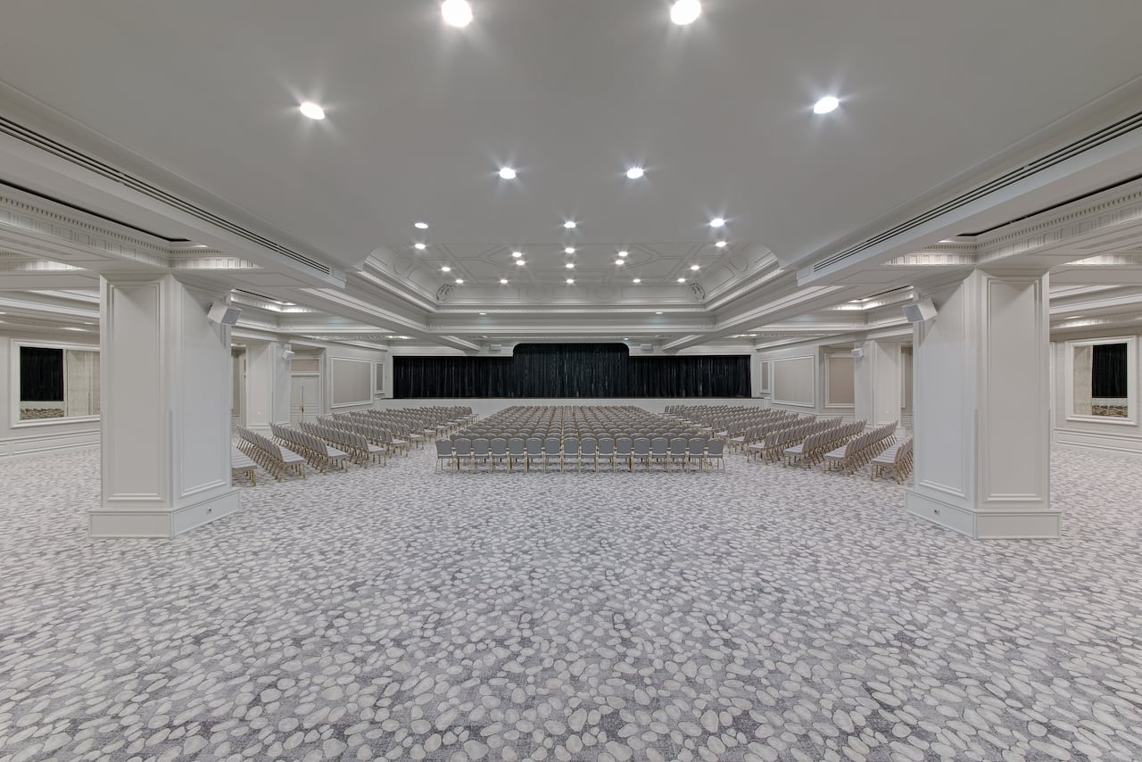 Riviera Room Theater Setup Hyatt Regency Nice Palais de la Méditérranée