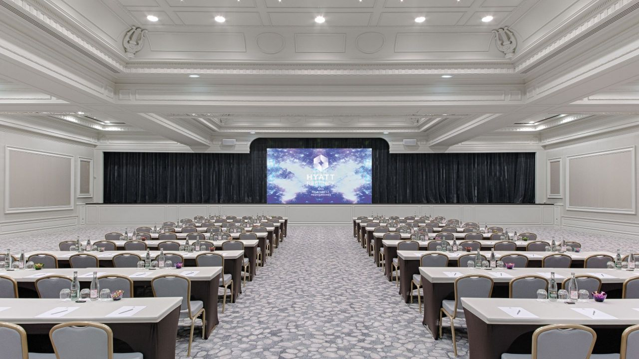 Salon Riviera - Conférences à l'Hôtel Hyatt Regency Nice Palais De La Méditerranée