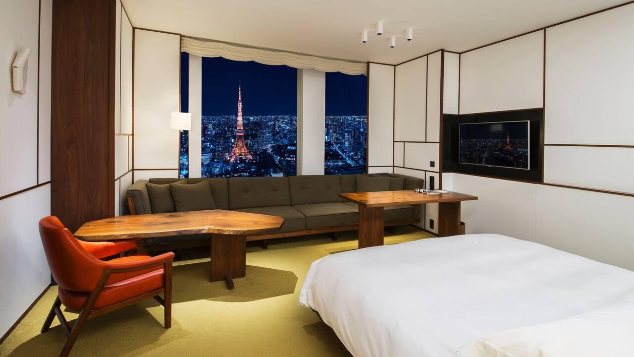 Andaz Tokyo Toranomon Hills, tower view king guestroom