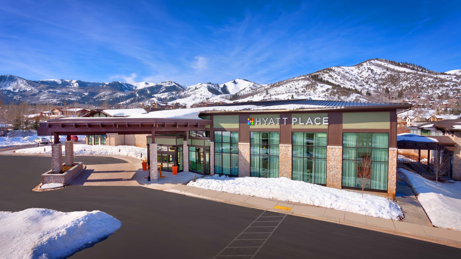 Hyatt Place Park City Front Entrance