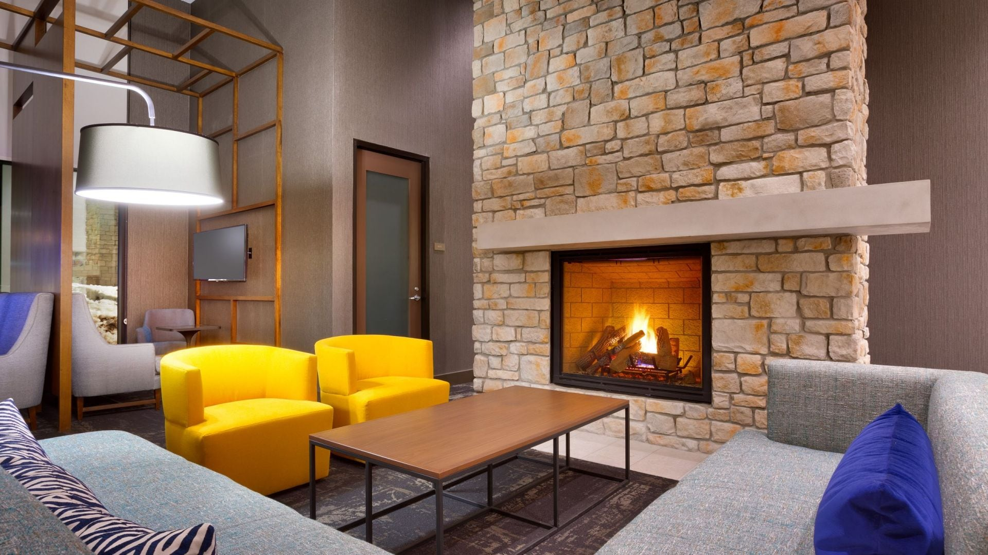 Hyatt Place Park City Fireplace