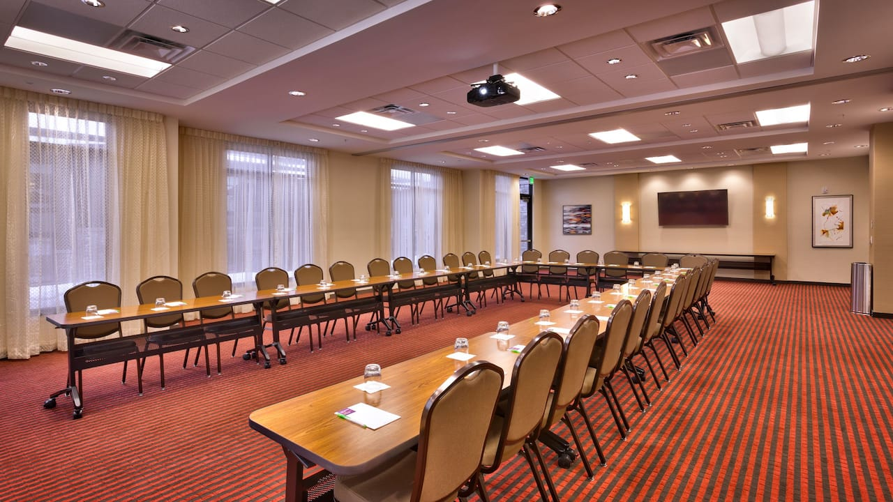Modern U-Shaped meeting room at Hyatt Place Park City