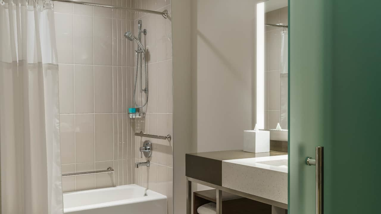 ADA Bathroom with Bathtub