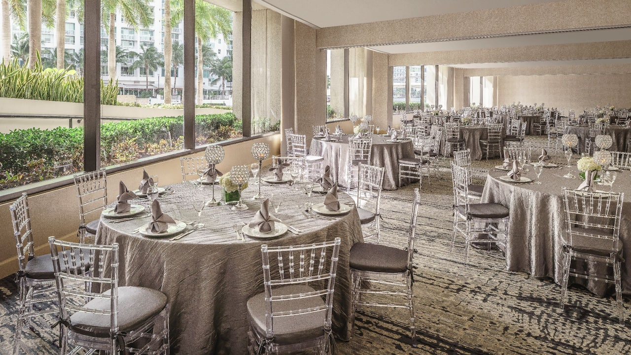 Wedding Venues in Miami – Orchid Wedding Space – Hyatt Regency Miami