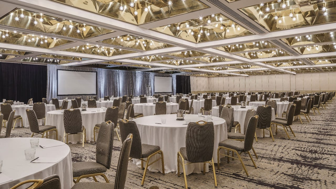 Miami Meeting Venues – Regency Ballroom – Hyatt Regency Miami