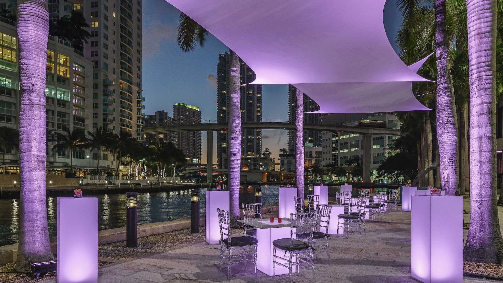 Riverwalk Terrace Purple