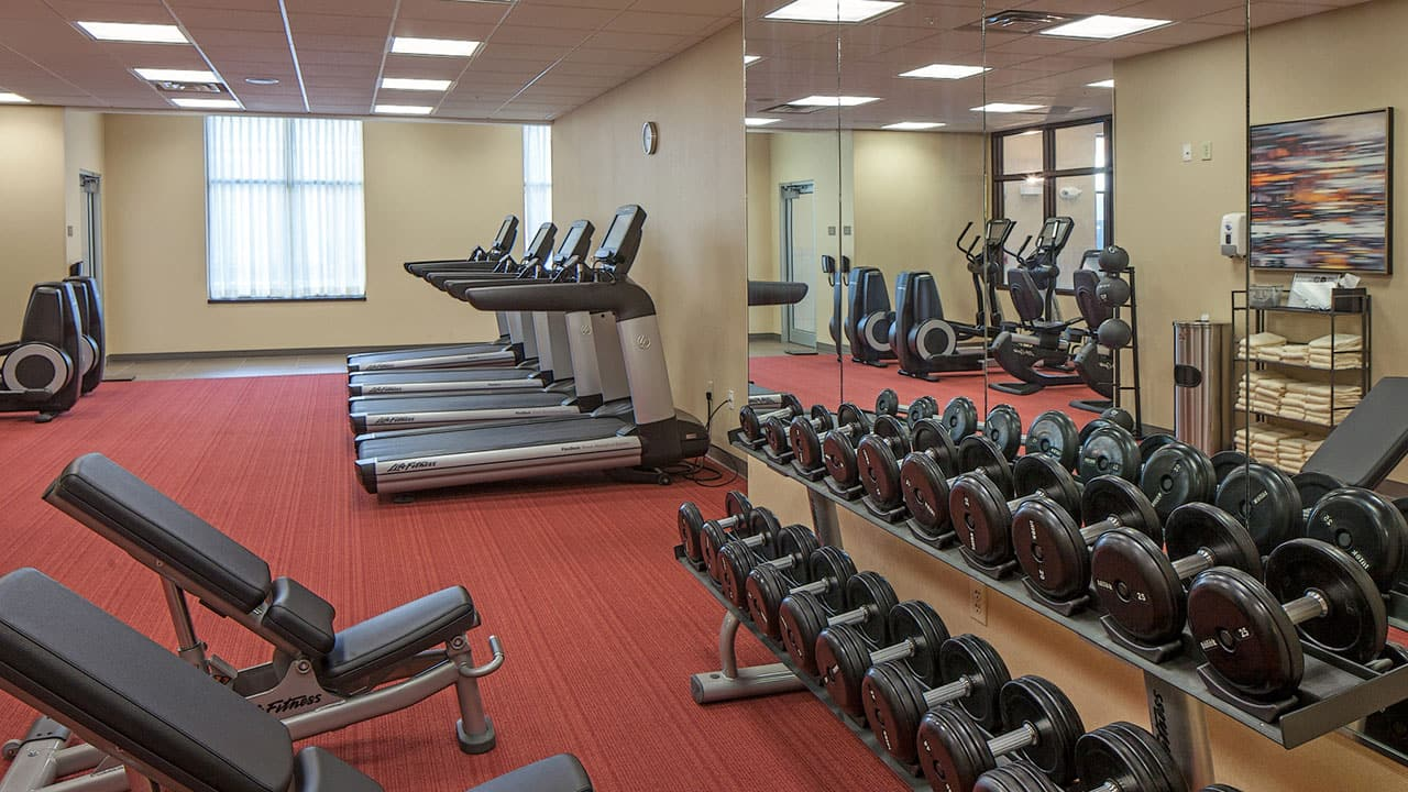 Hyatt Place Lincoln/Downtown - Haymarket Stayfit Gym