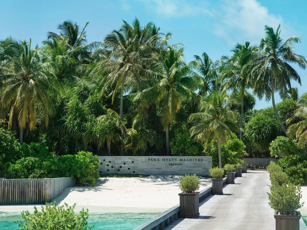 Best luxury Maldives resort Park Hyatt Maldives