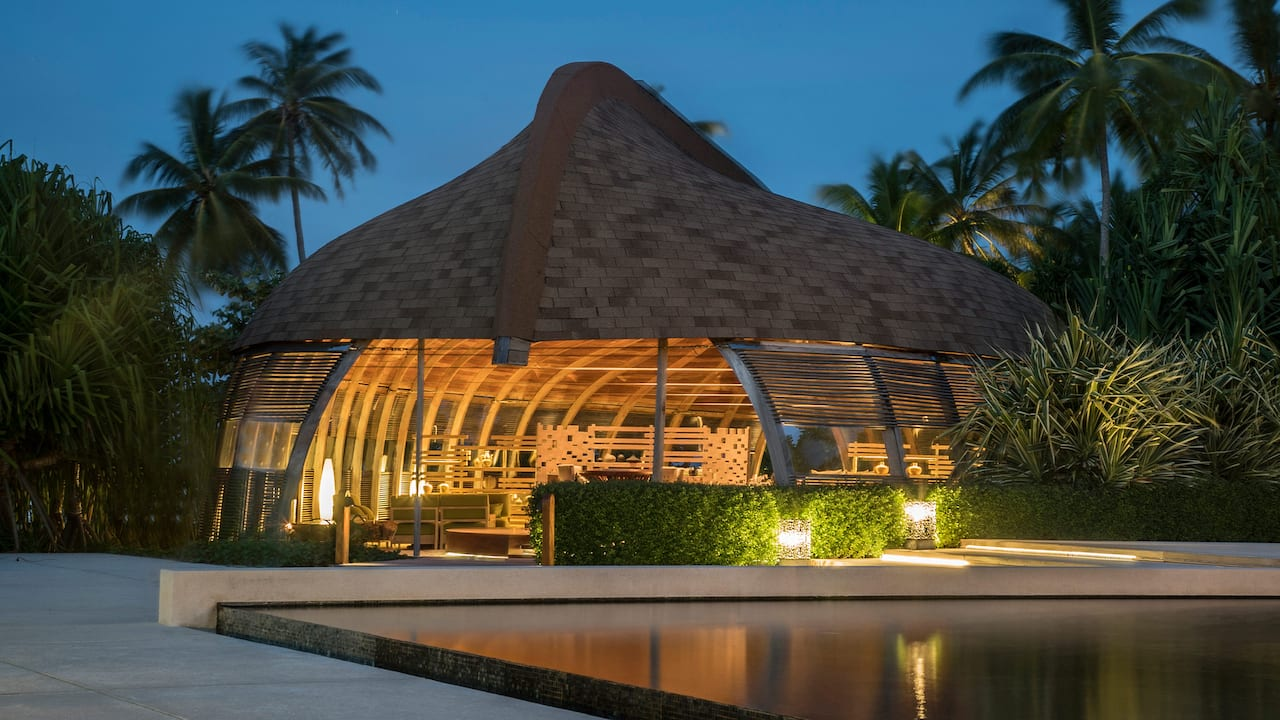 Luxury Maldives Resort The Dhoni Exterior
