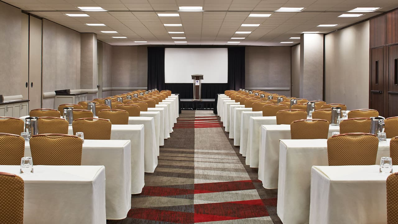Classroom Seating Event Space Hyatt Regency Atlanta