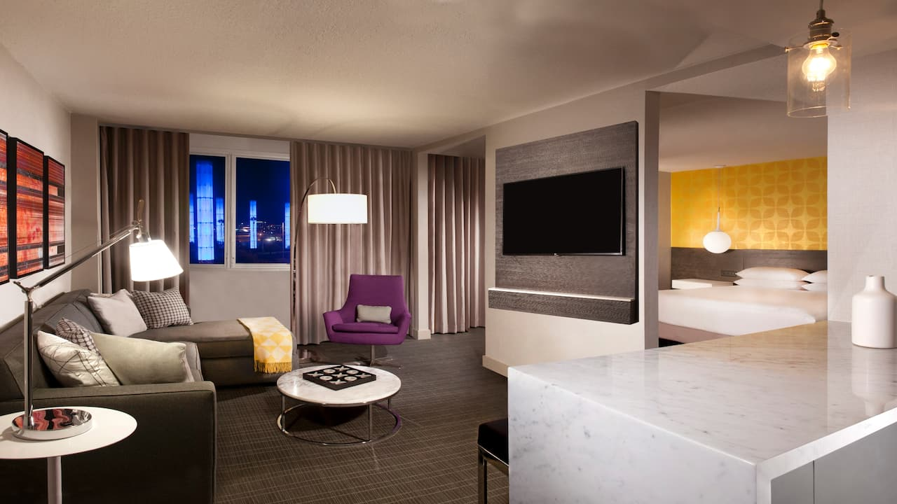 Suite in Hyatt Regency Los Angeles International Airport