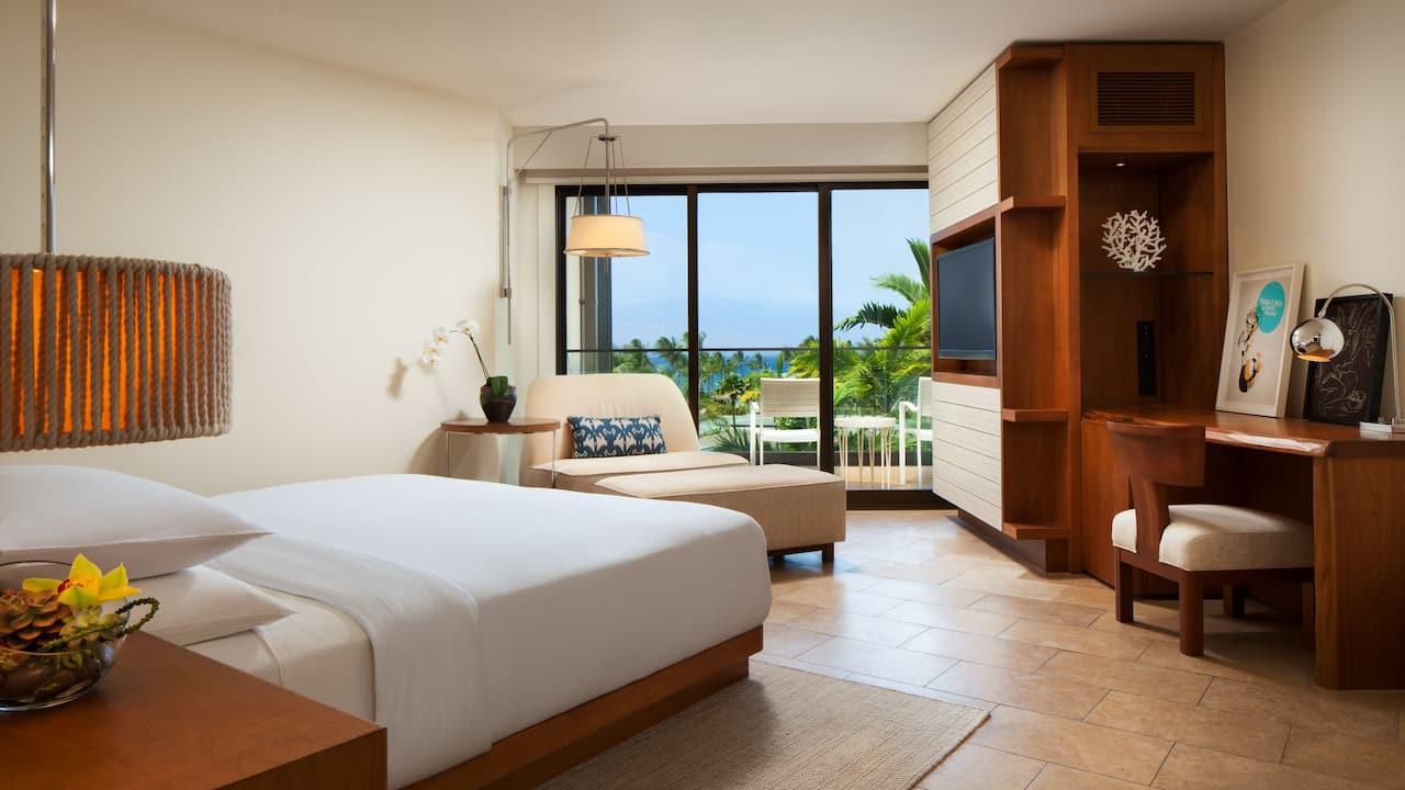 ANDAZ MAUI AT WAILEA RESORT | King Bed Mauka View