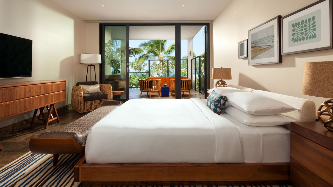ANDAZ MAUI AT WAILEA RESORT | Villa Ocean View Bedroom