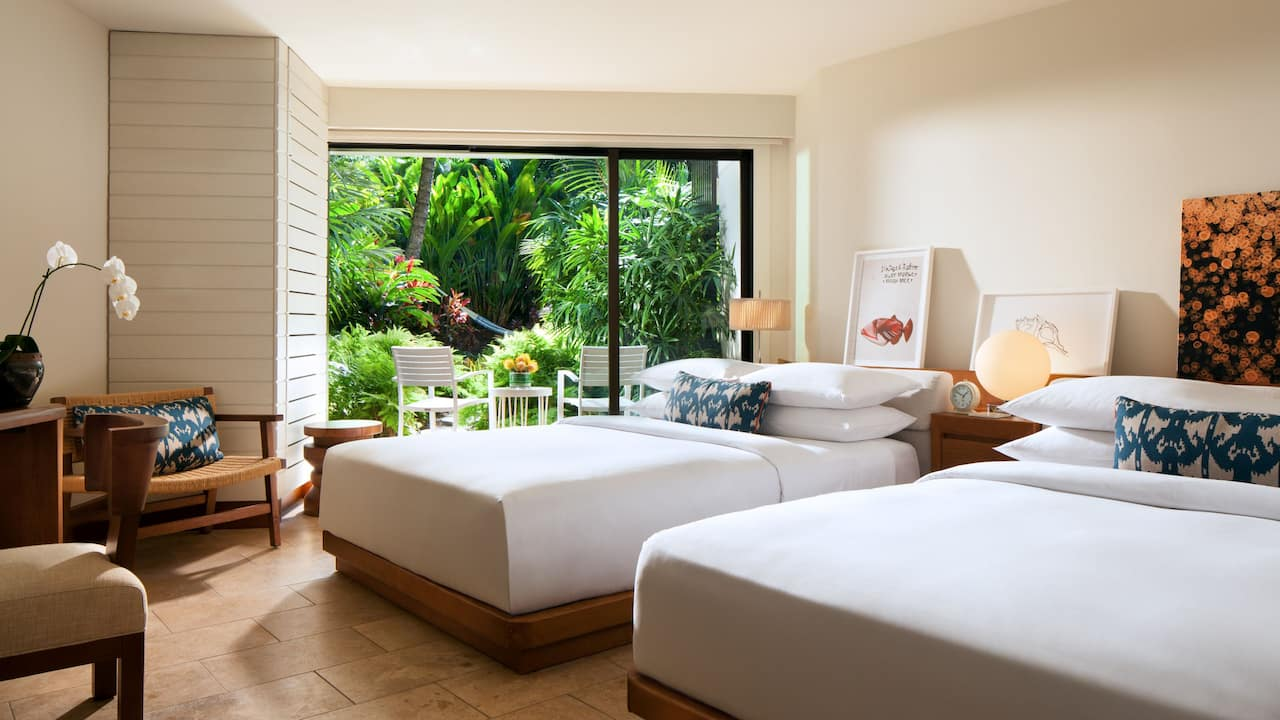 ANDAZ MAUI AT WAILEA RESORT | Two Queen Beds