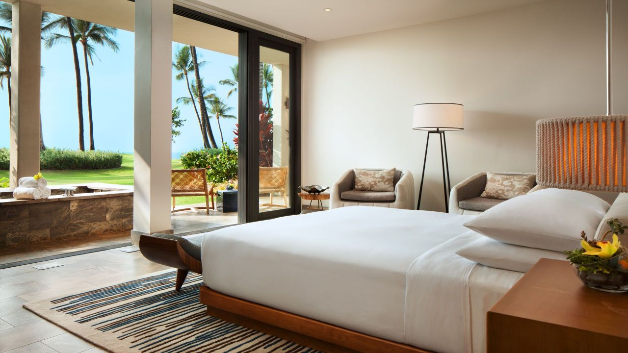 ANDAZ MAUI AT WAILEA RESORT | Villa Bedroom