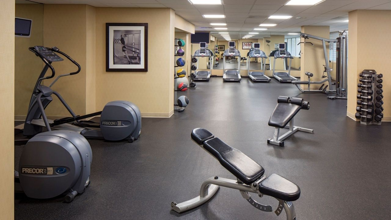 on-site 24 hour fitness center