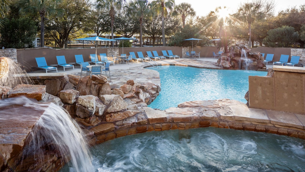 best pool in houston at Hyatt Regency Houston Intercontinental Airport