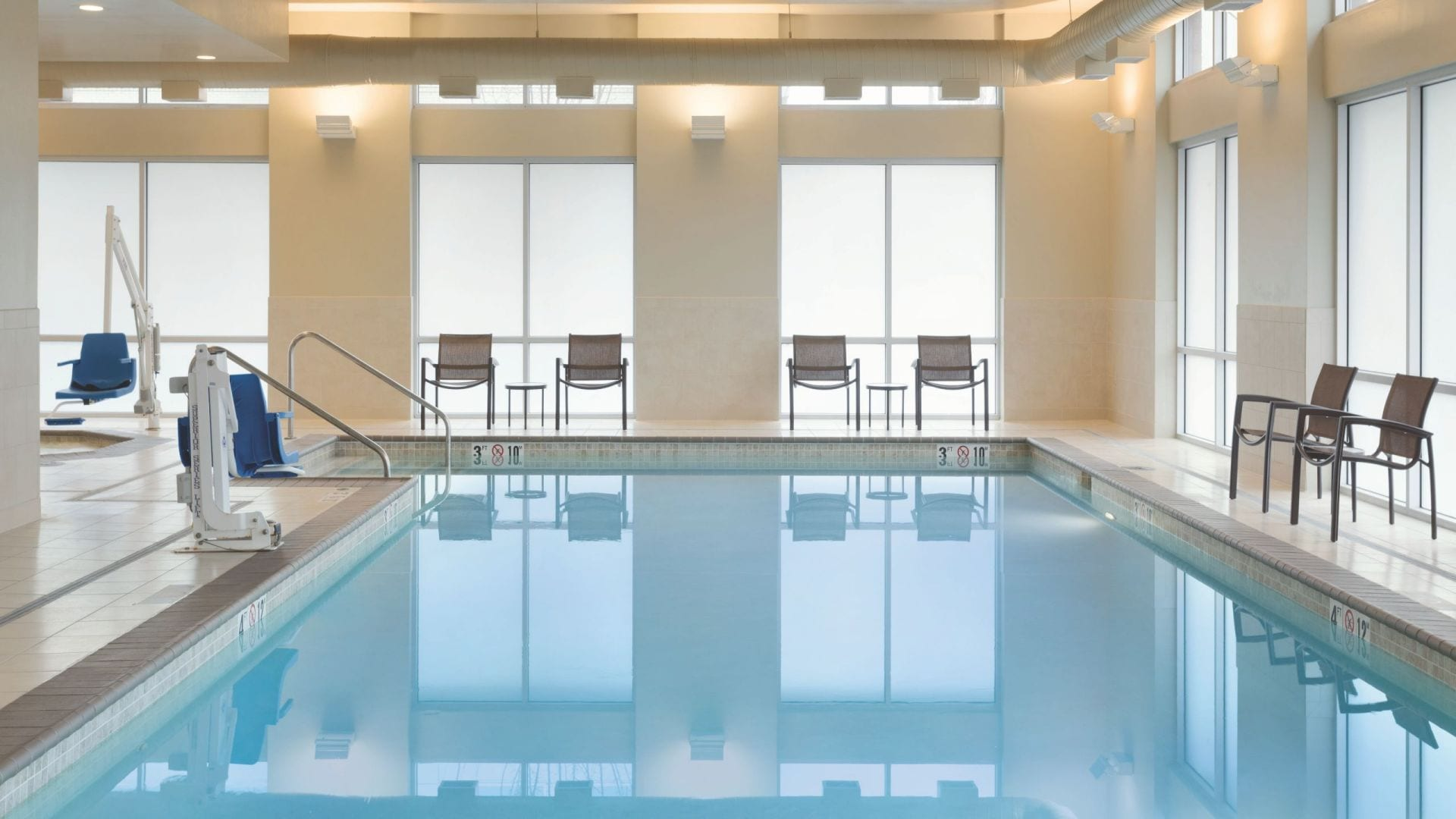 hyatt indoor pool