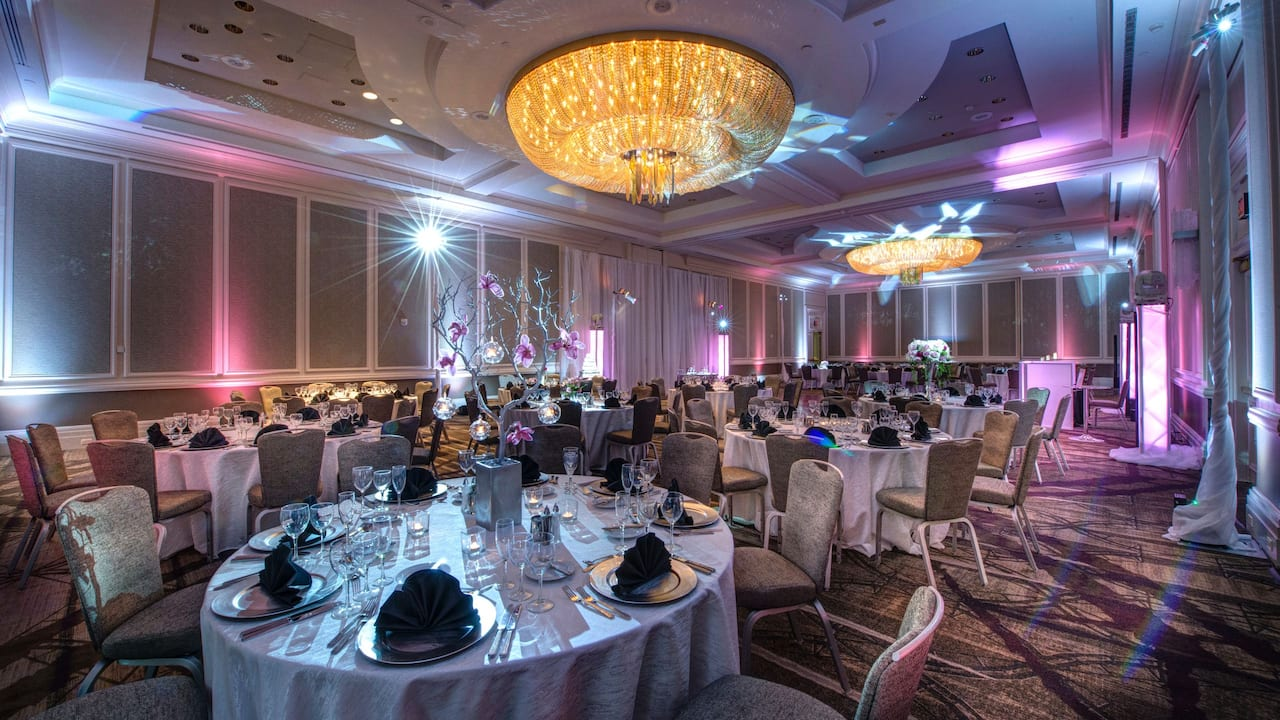regency ballroom at Hyatt Regency Reston