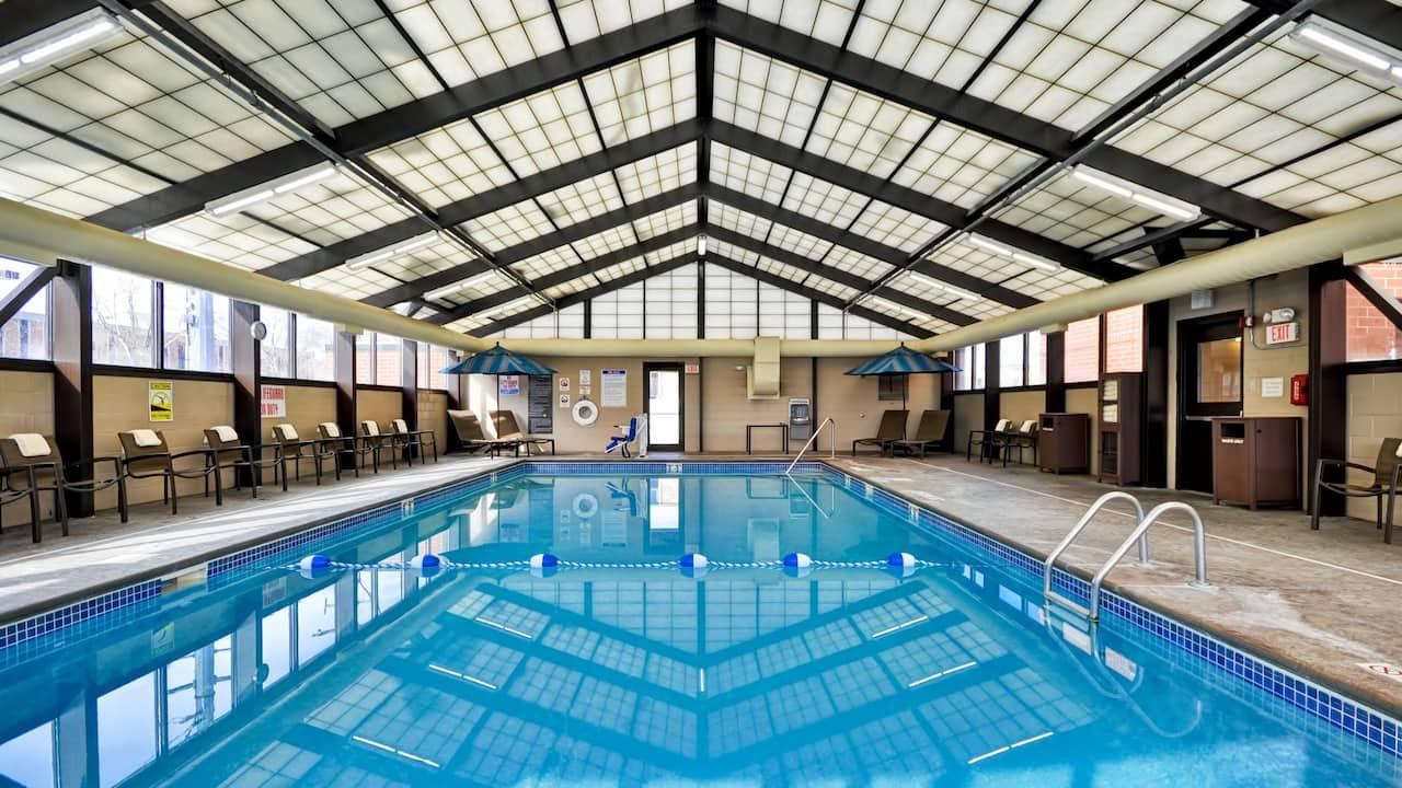 Indoor Pool Hyatt Place Minneapolis Airport South