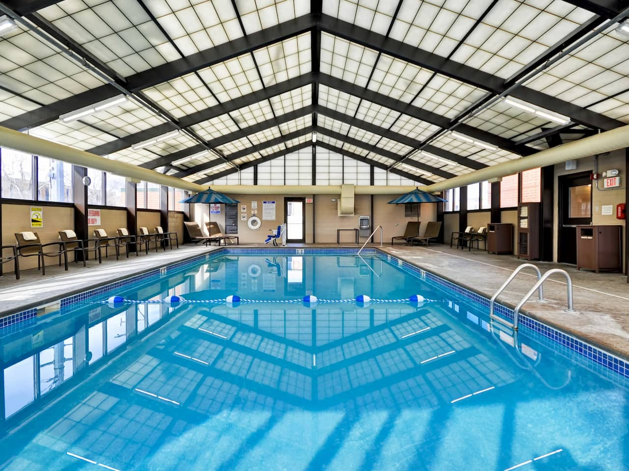 Indoor Pool Hyatt Place Minneapolis Airport South
