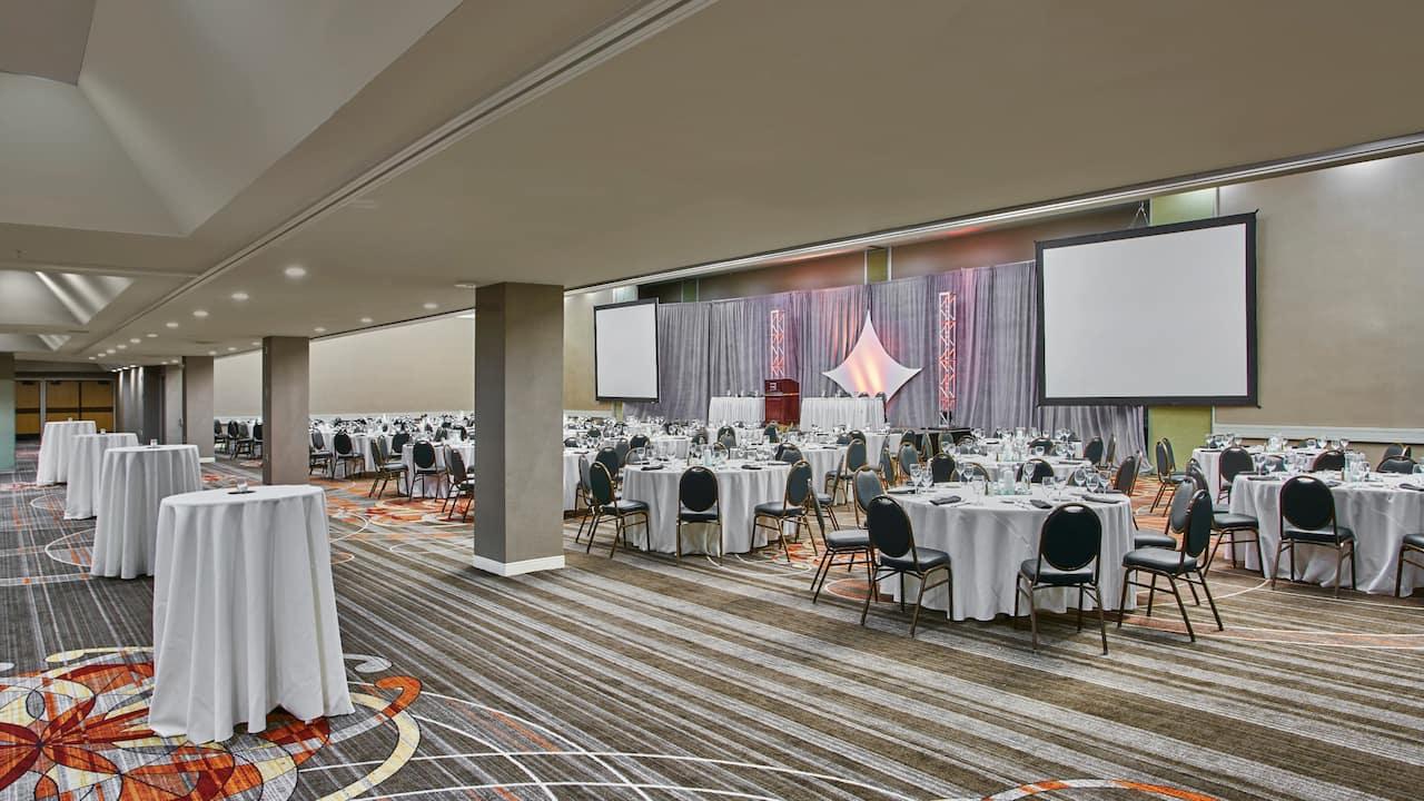 Patterson Ballroom Social Setup