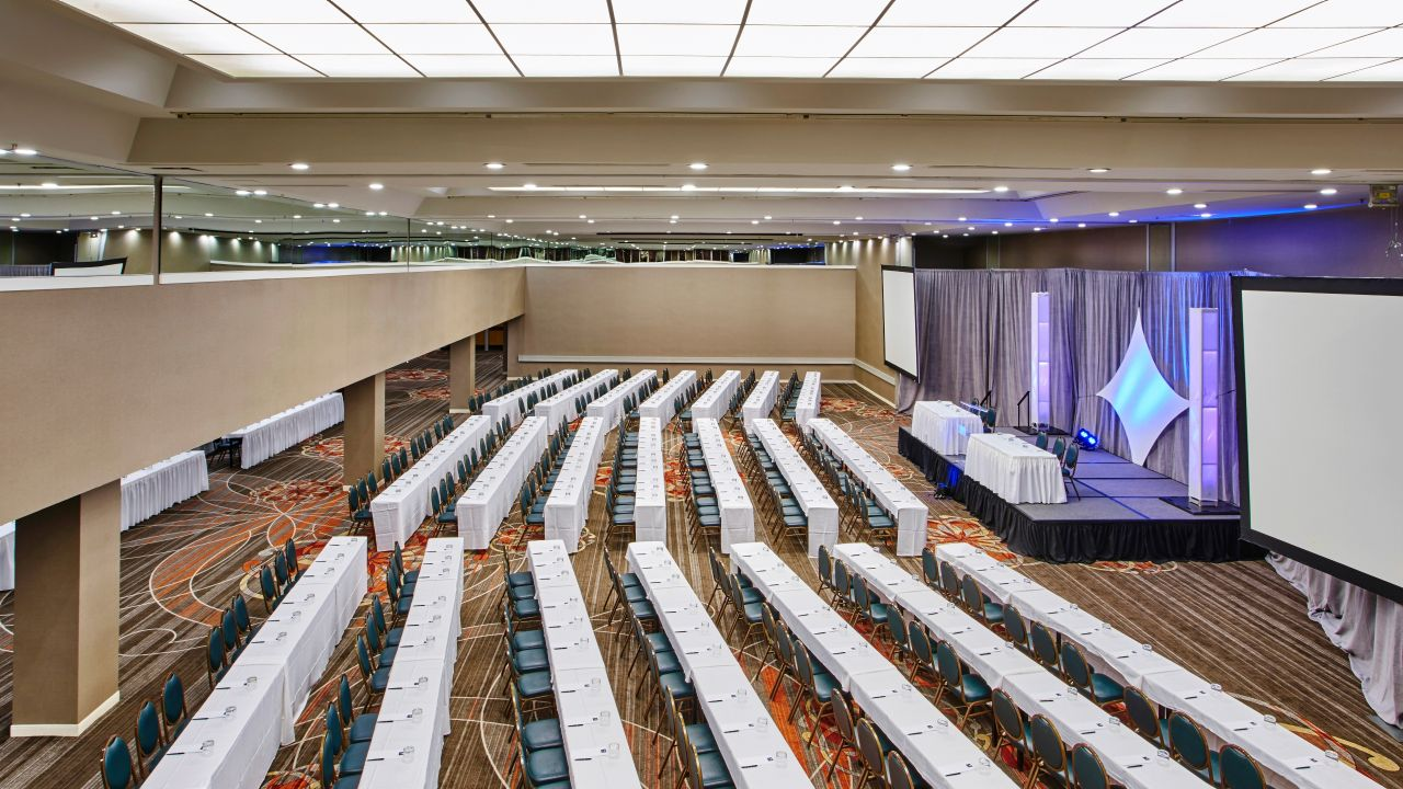 Patterson Ballroom Theatre Setup