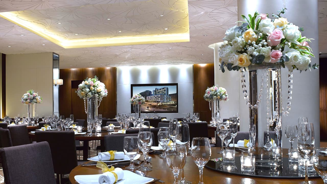 The Residence, Residential Style and Banquet Event Venue Hyatt Regency Kinabalu