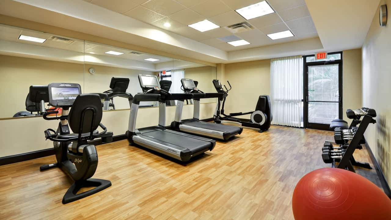 Hyatt Place Tampa Airport/Westshore 24/7 gym