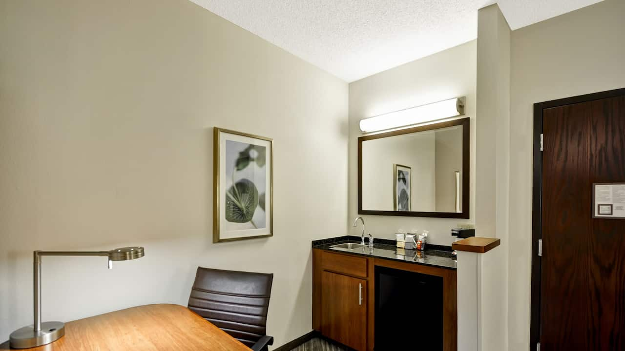 Hyatt Place Tampa Airport/Westshore workspace
