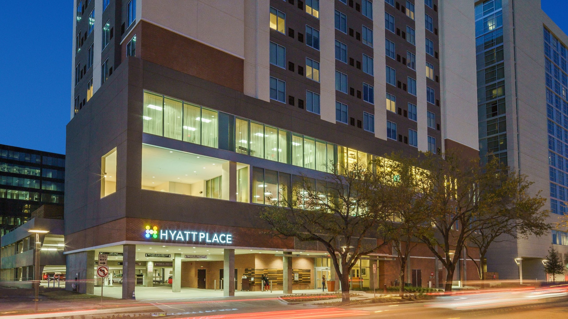 Hyatt Place Houston / Galleria hotel exterior