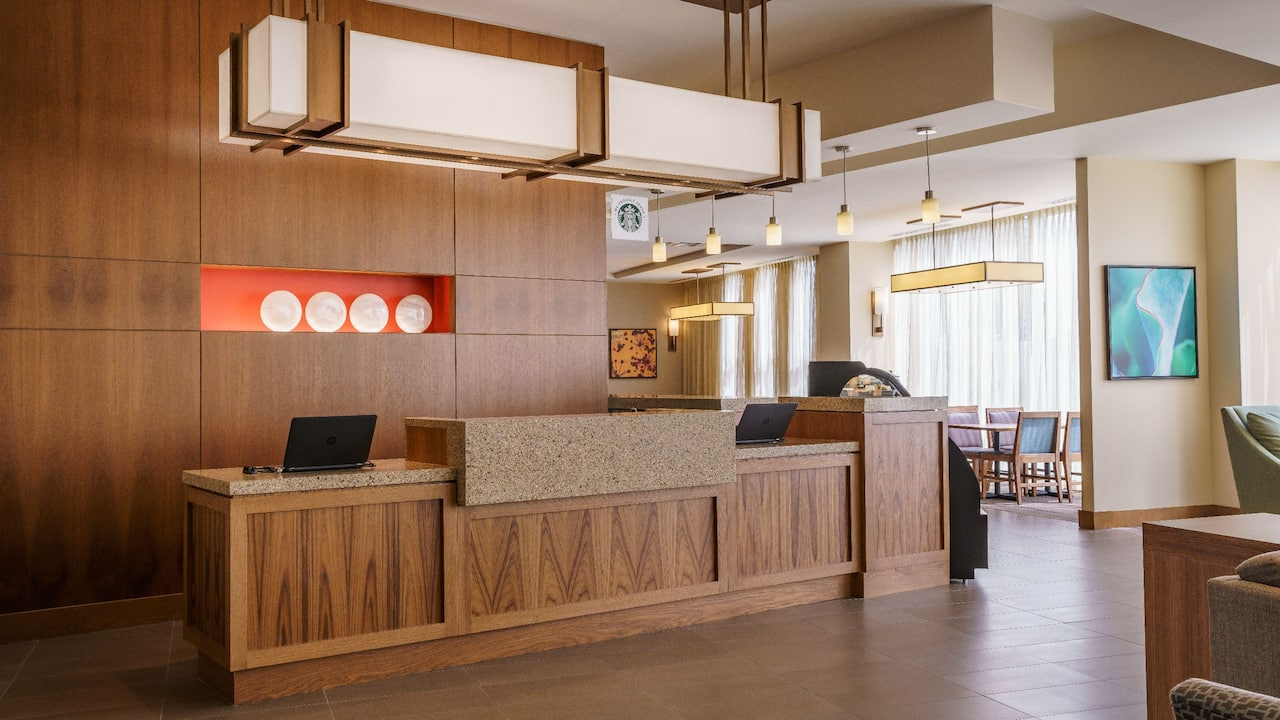 Front Desk at Hyatt Place Houston Galleria