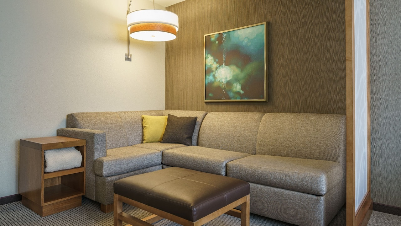 Cozy corner at Hyatt Place Houston Galleria