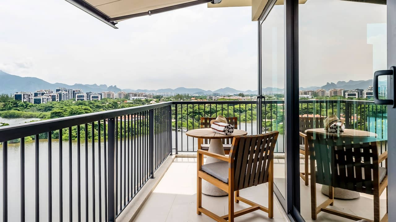 Grand Hyatt Rio de Janeiro | Lagoon Balcony