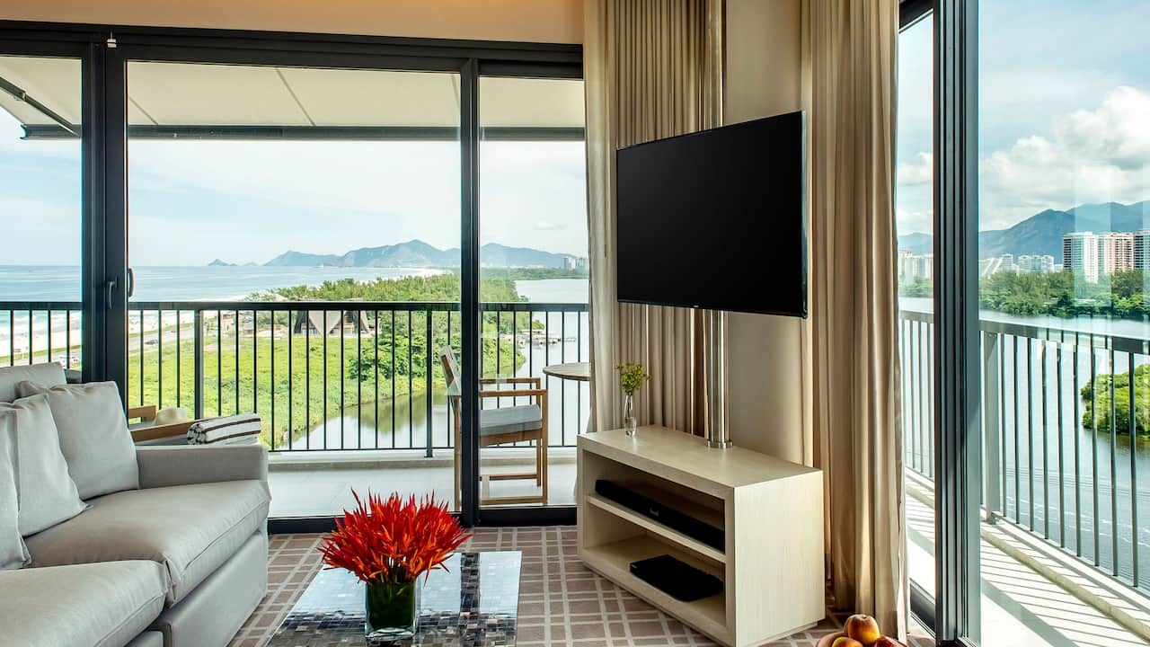 Grand Hyatt Rio de Janeiro | Ocean Lagoon Bedroom
