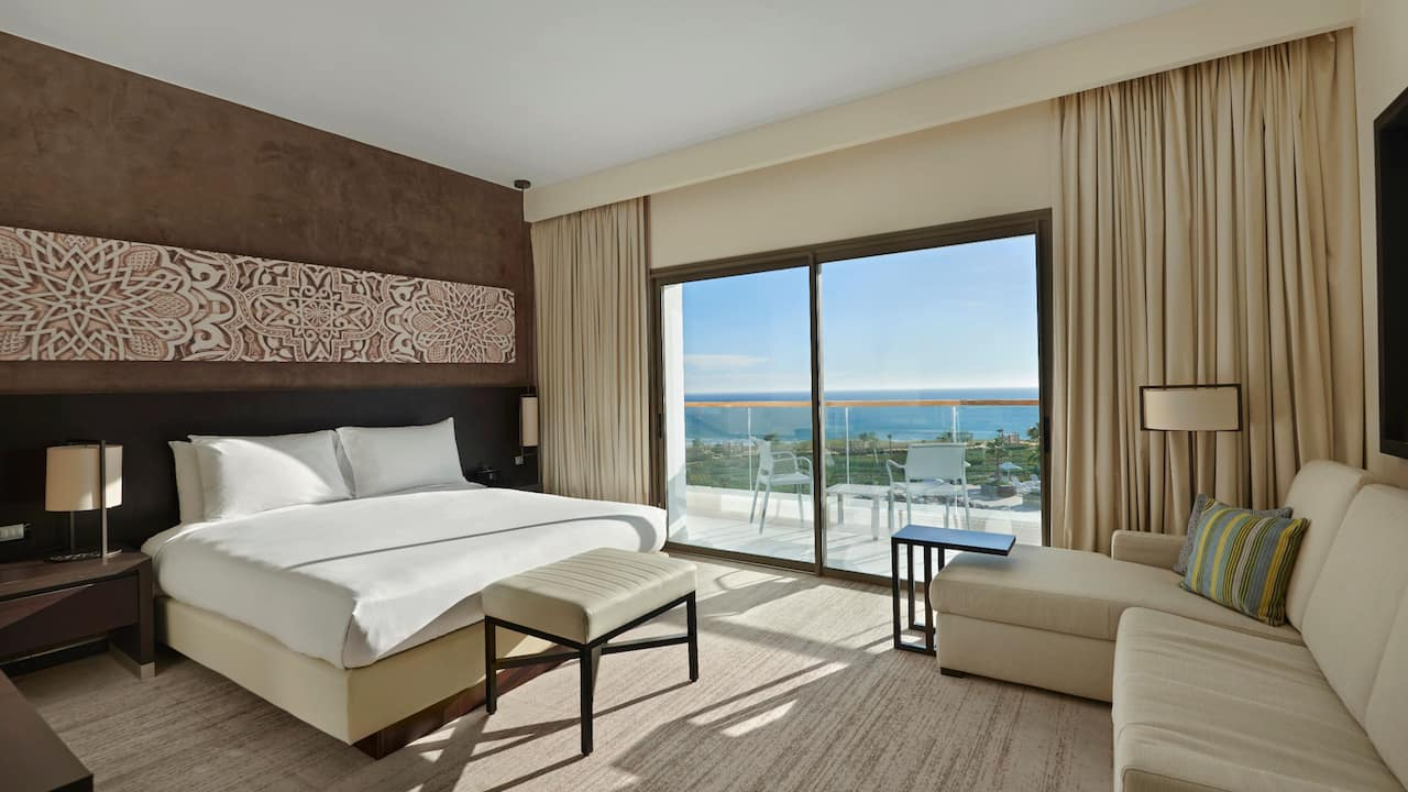 Ocean view king room