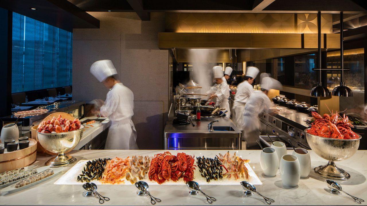 香港君悅酒店咖啡廳