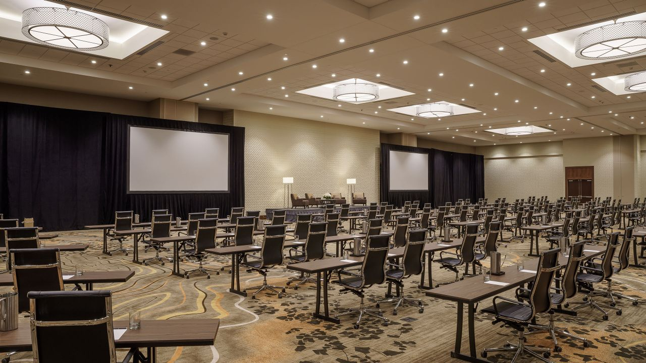 Ballroom Meeting Space at Hyatt Regency Aurora-Denver