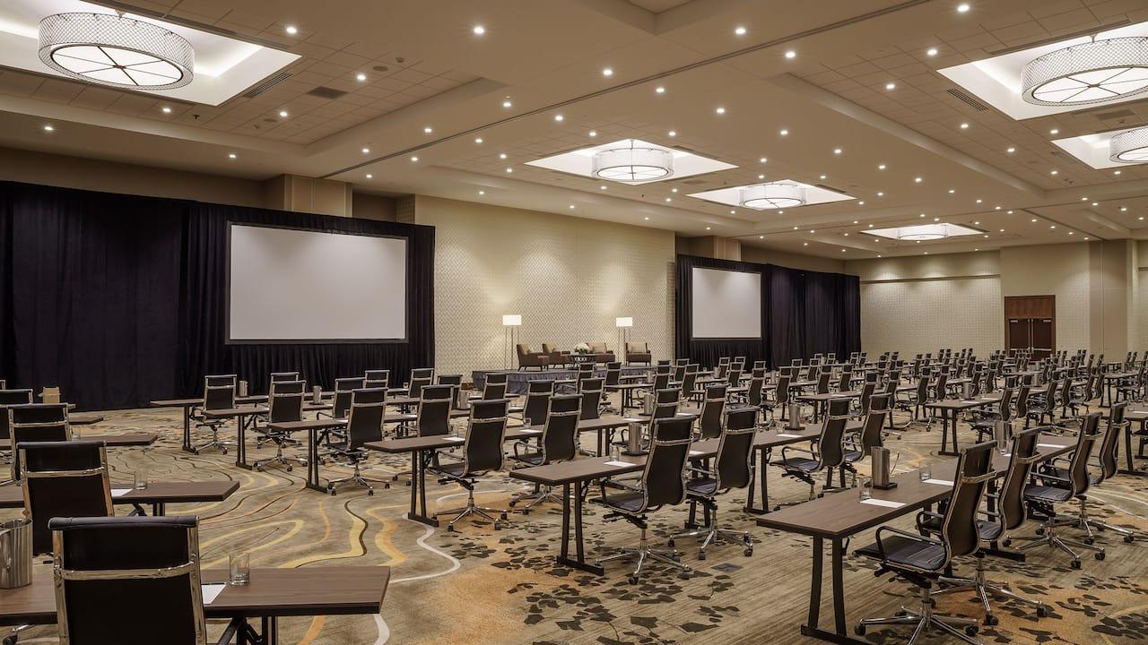 Ballroom Meeting Space at Hyatt Regency Aurora-Denver